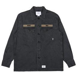 WTAPS Buds LS 02 Shirt Black