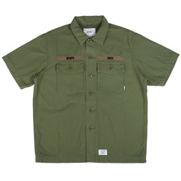 WTAPS Buds SS Shirt Olive Drab