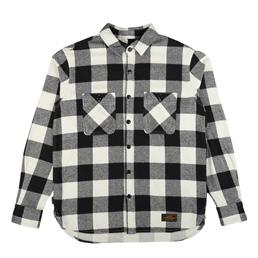 NH Lumbers LS Shirt White