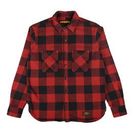 NH Lumbers LS Shirt Red