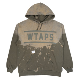WTAPS Design Hooded Team Sweatshirt Grey