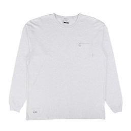 WTAPS Blank L/S 01 T-Shirt Ash Grey