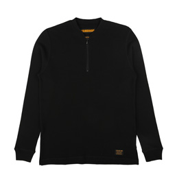 NH Waffle LS Black