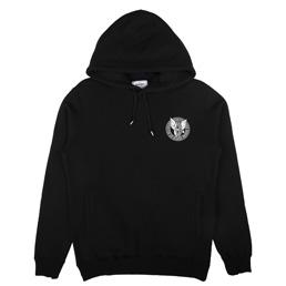 NH X RATS LS Hooded Sweat Black