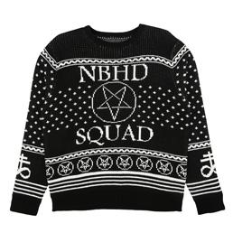 NH SQD LS Crew Black