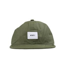 WTAPS A-3 02 Moleskin Cap Olive Drab