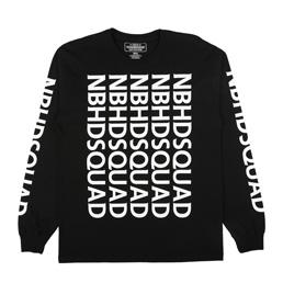 NH SQD LS T-Shirt Black
