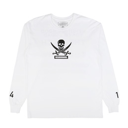 NH Filth And Fury LS T-Shirt White