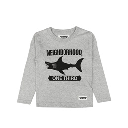 NH 1/3 Shark Skin LS T-Shirt Grey