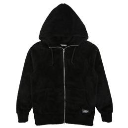 NH Wavy Bone LS Hooded Sweat Black