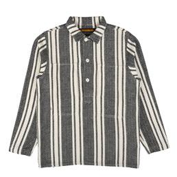 NH Mex LS Pull Shirt White
