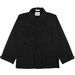 WTAPS Jungle LS Nyco Ripstop Shirt Black