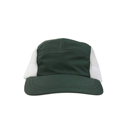 Supply 5 Panel Mesh Cap - Forest Green