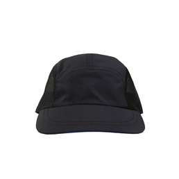 Supply 5 Panel Mesh Cap - Black