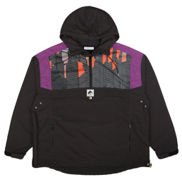 Flagstuff H/Z Nylon Anorak Black