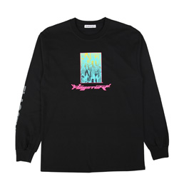 Flagstuff Bottled City L/S T-Shirt Black