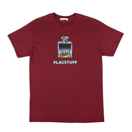 Flagstuff Bottled City T-Shirt Maroon