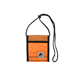 Flagstuff Nylon Pass Case Orange