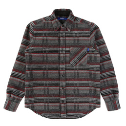 Supply Woolrich BD Shirt - Grey Stripe