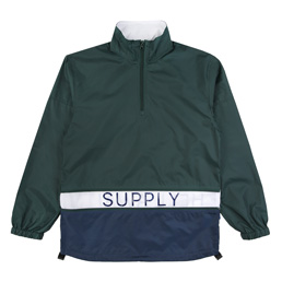 Supply Extendable Panel Jacket - Green/Navy