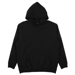 Supply Flocked Hoodie - Black
