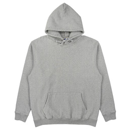 Supply Flocked Hoodie - Ash Heather