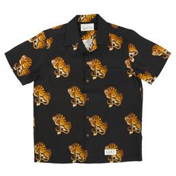 Wacko Maria Tigers S/S Hawaiian Shirt - Black