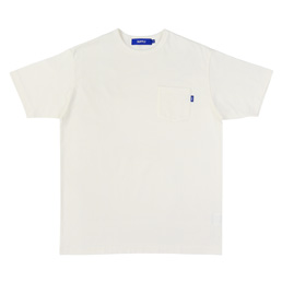 Supply Pocket T- Shirt - White