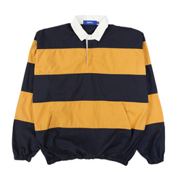 Supply Lightweight Rugby Pullover- Navy
