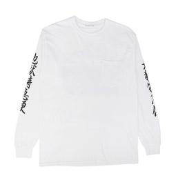 Flagstuff Shunga L/S T-Shirt White
