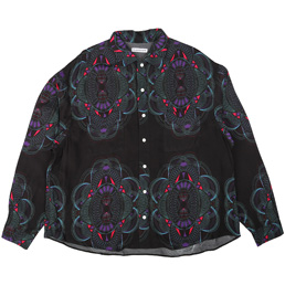 Flagstuff Ten Thousand Yen L/S Shirt Black