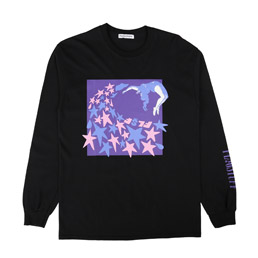 Flagstuff Stars L/S T-Shirt Black