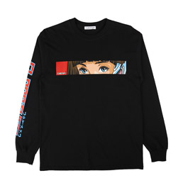 Flagstuff Dream and Reality L/S T-Shirt Black