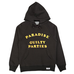 Wacko Maria Washed Pullover Hood Black