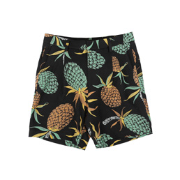 Wacko Maria Pineapple Pleated Shorts Black