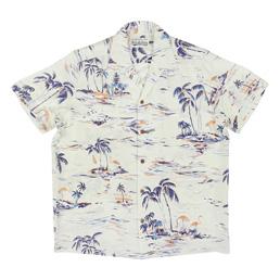 Wacko Maria Island Sea S/S Hawaiian Shirt Mint