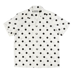 Wacko Maria Dots S/S Hawaiian Shirt White