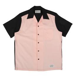 Wacko Maria Two-Tone 50's Shirt Black