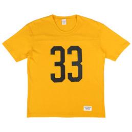 Wacko Maria Football T-Shirt Yellow
