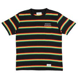 Wacko Maria Striped T-Shirt Rasta