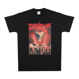 The Salvages Space Rock 3 T-Shirt Black