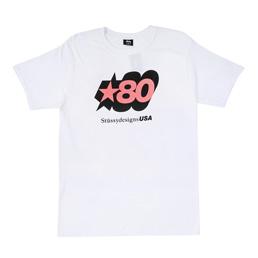 Stussy 80 Star T-Shirt - White
