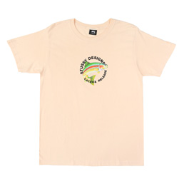Stussy Catch & Release T-Shirt - Pale Pink