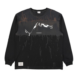 WTAPS Design LS Xerox T-Shirt Black