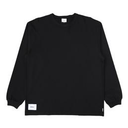 WTAPS Blank LS 01 T-Shirt Black