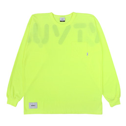WTAPS Worf Design LS 02 T-Shirt Yellow