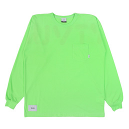 WTAPS Worf Design LS 02 T-Shirt Green