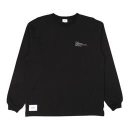 WTAPS Spec Design LS 01 T-Shirt Black