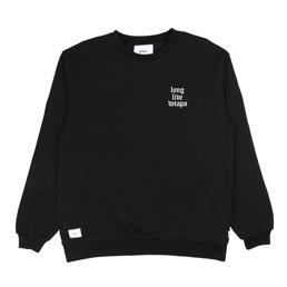 WTAPS LLW Design Crew Sweatshirt Black