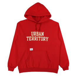 WTAPS Urban Territory Hooded Sweat Red